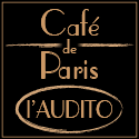 logo Café de Paris - l'Audito - carré